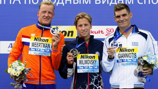 Weertman verovert WK-zilver op 10 kilometer openwaterzwemmen