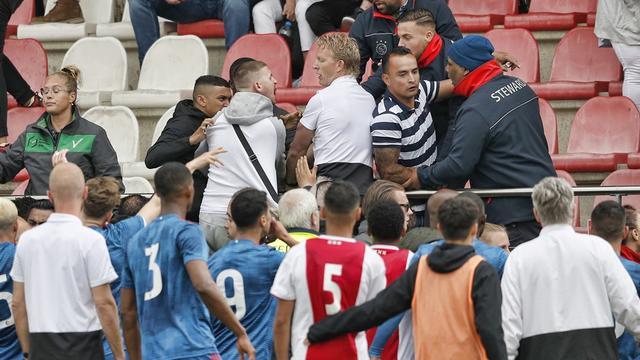 Duel tussen jeugdteams Ajax en Feyenoord wordt zonder publiek afgemaakt