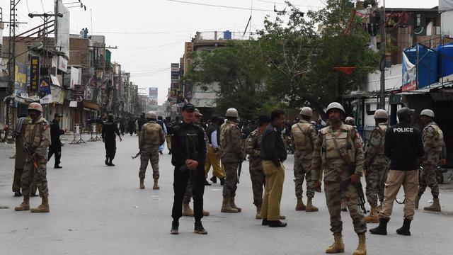 Gewapende mannen doden buspassagiers Pakistan