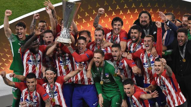 Atlético Madrid wint Europa League ten koste van Olympique Marseille