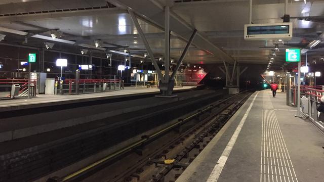 Geen metro's tussen Centraal Station en Amstelstation