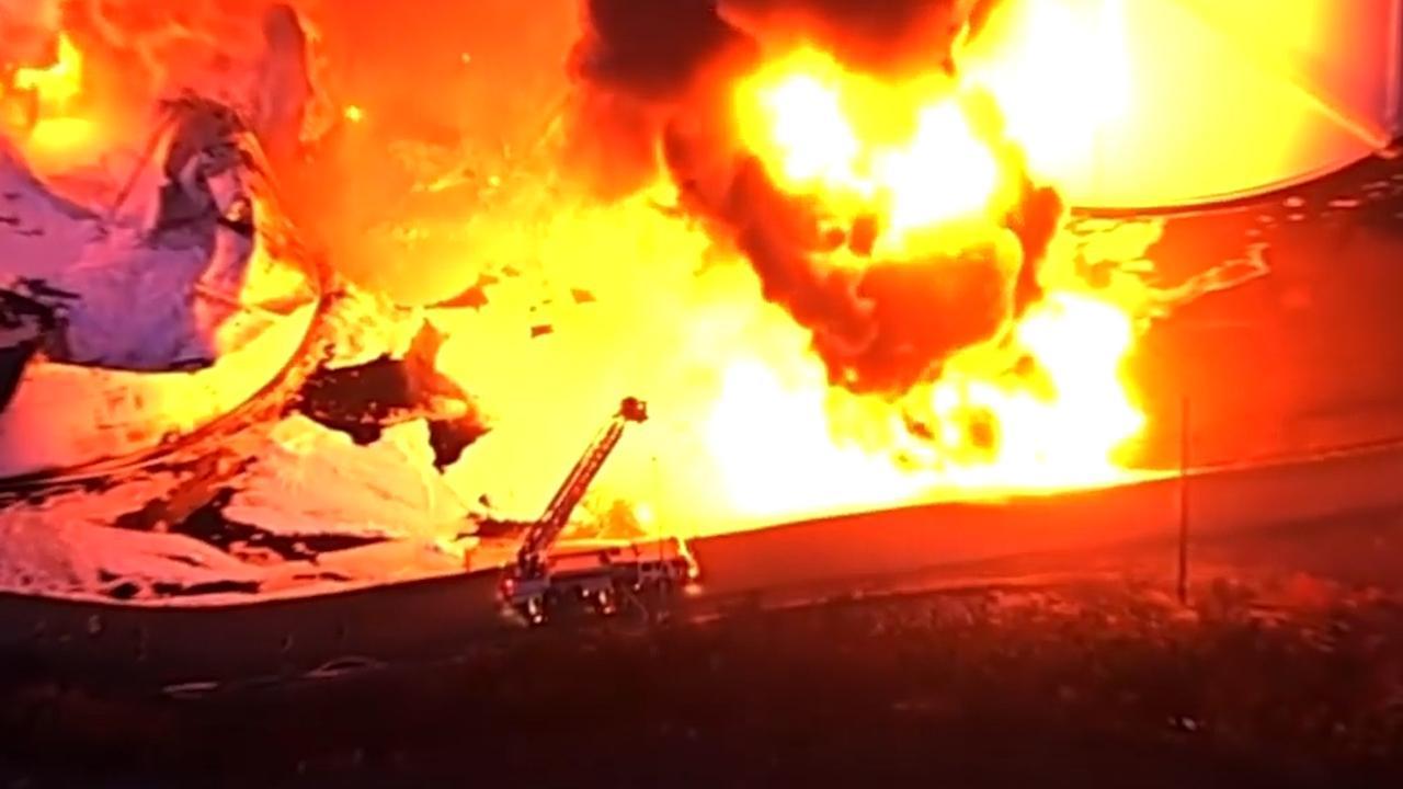 Twee tanks met ethanol in brand gevlogen in Californië