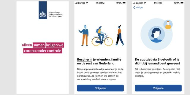 Eerste indruk van Nederlandse corona-app