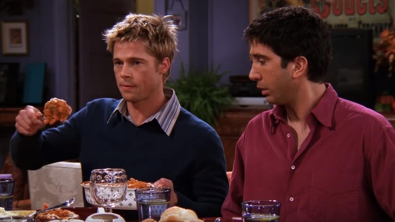 Bekijk Brad Pitt in Friends