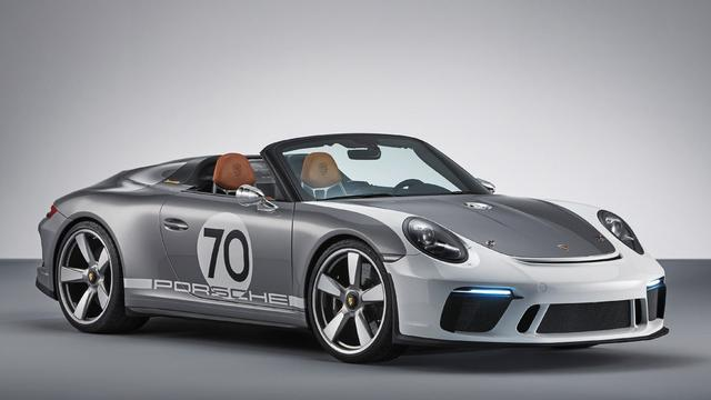 Eerste foto nieuwe Porsche 911