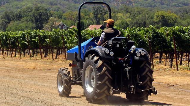 In de Amerikaanse staat Californië is de elektrische tractor al te koop