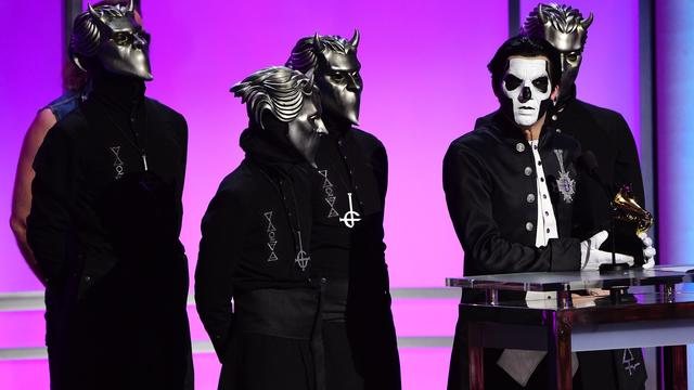 Metalband Ghost treedt op in HMH