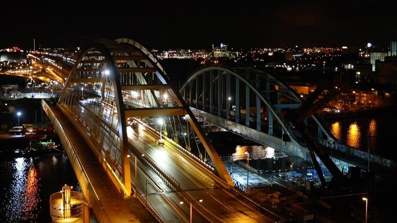 Waterstand Rijnkanaal te laag voor nieuwe brug