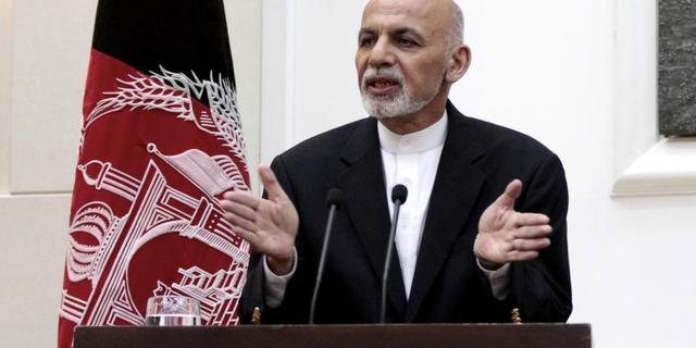 Afghaanse president ontsnapt aan aanslag Taliban