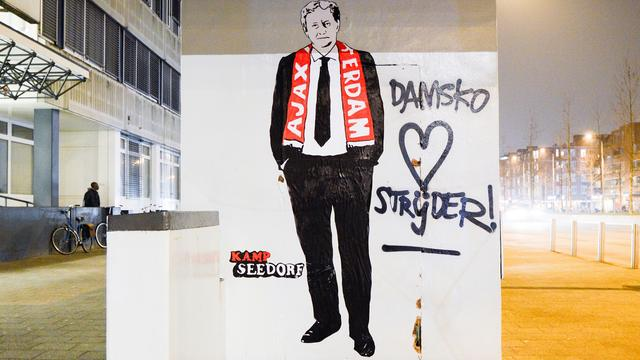 Amsterdam Museum eert Van der Laan met graffitikunstwerk