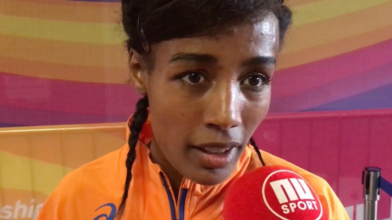 Hassan: 'Ik was zenuwachtig, omdat ik weinig ervaring heb op de 5.000 meter'