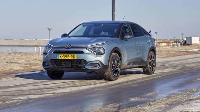 Het privateleasetarief van een elektrische Citroën C4 is lager dan dat van een benzineversie.