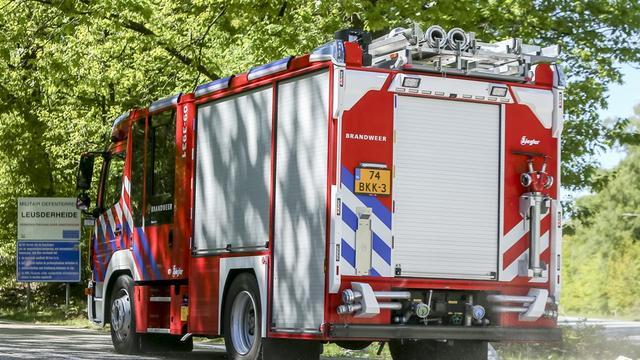 Brand in voormalige fietsenstalling in Haarlem
