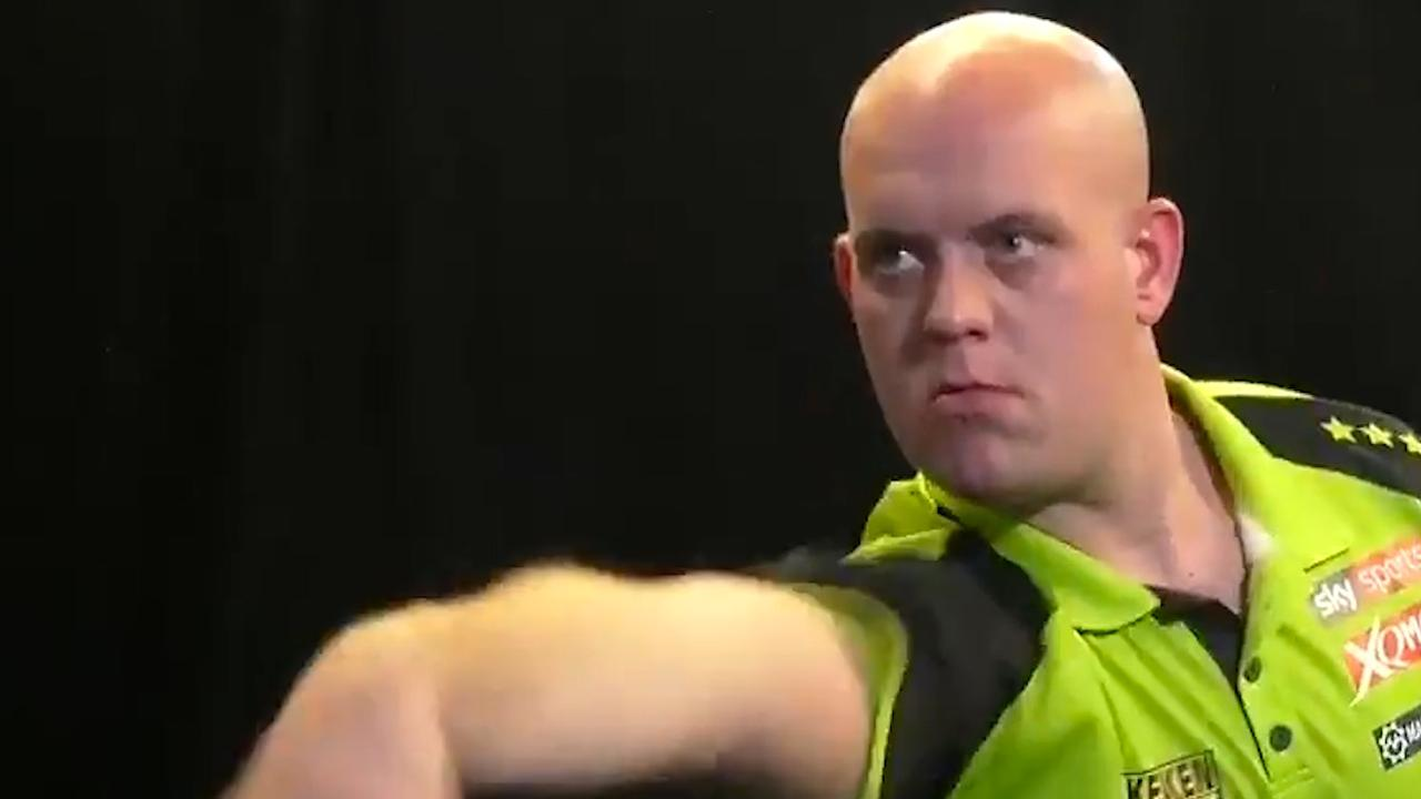 Van Gerwen gooit twintigste negendarter uit loopbaan