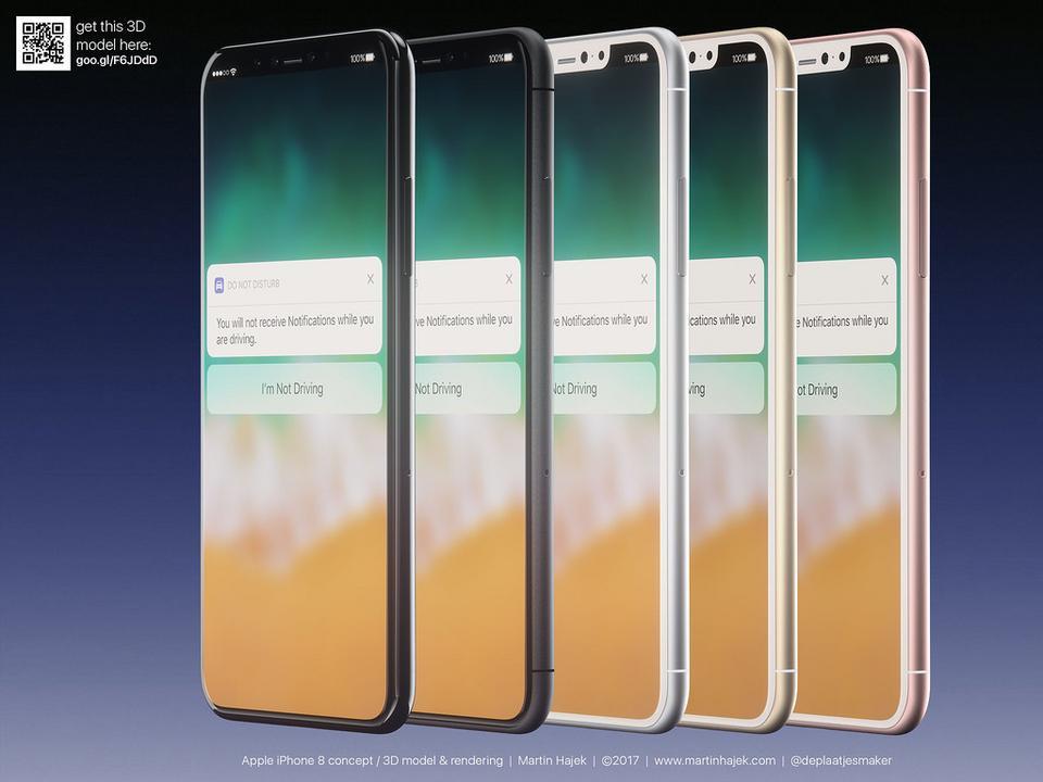 Dit verwachten we van de iPhone 8