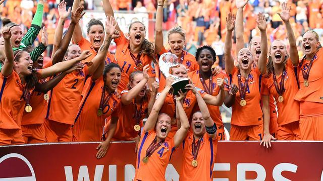 Oranjevrouwen dankzij EK-winst naar hoogste ranking ooit op FIFA-lijst