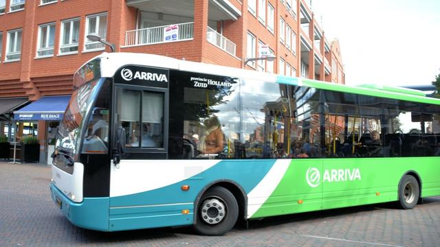 Vervallen busritten Arriva door Ride for the Roses