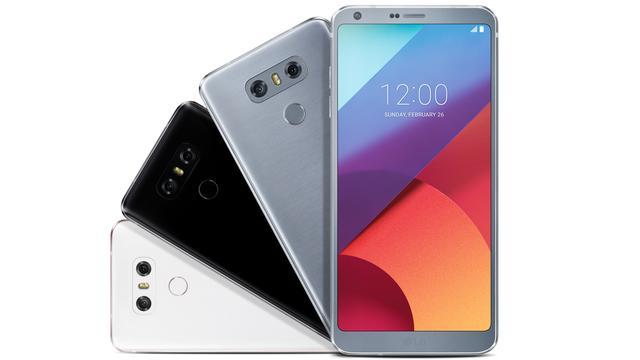 LG toont extra langwerpige G6-smartphone met dunne schermranden