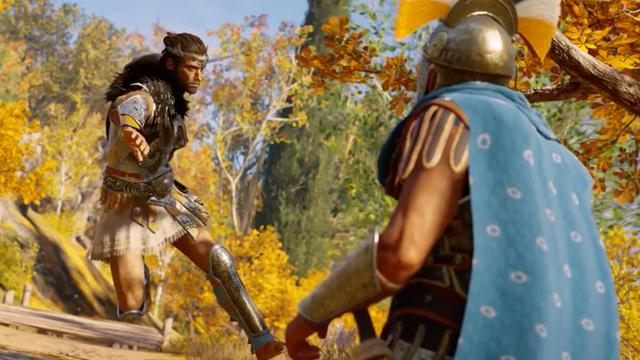 Griekenland decor in nieuwe Assassin's Creed Odyssey