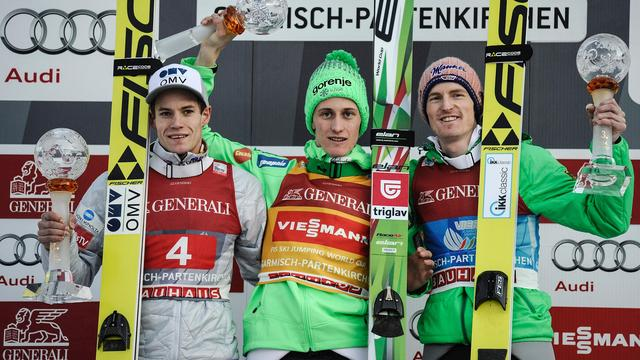 Sloveen Prevc wint nieuwjaarsspringen in Garmisch-Partenkirchen