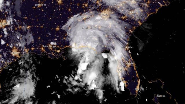 Afgezwakte tropische storm Gordon bereikt Amerikaanse kust