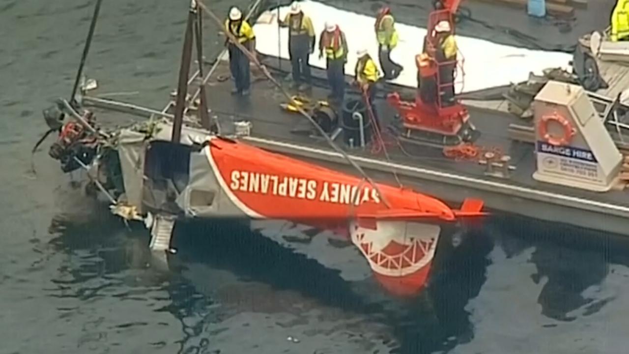Op oudejaarsavond neergestort vliegtuig uit water getakeld in Sydney