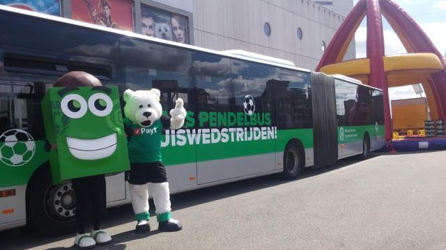 Supporters kunnen gratis met de bus naar FC Groningen