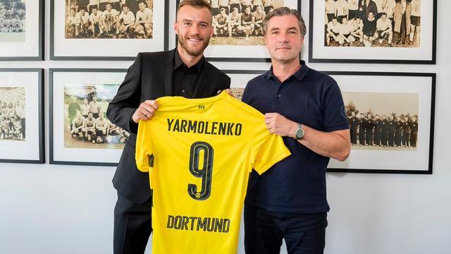 Bosz en Dortmund halen Yarmolenko als opvolger van Dembélé