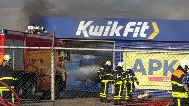 Brand gewoed in magazijn bij bedrijventerrein Etten-Leur