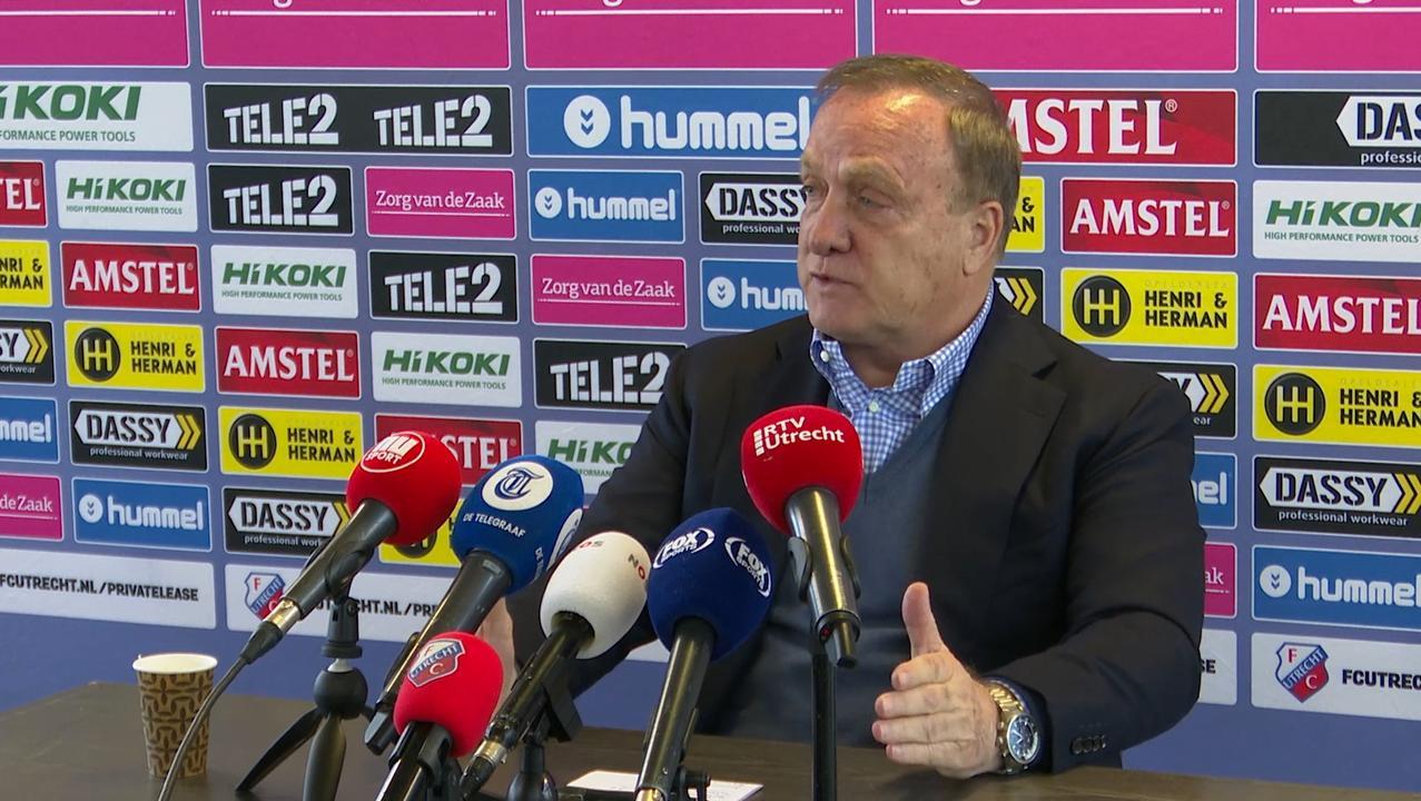 Advocaat vond het logisch dat Feyenoord hem vroeg