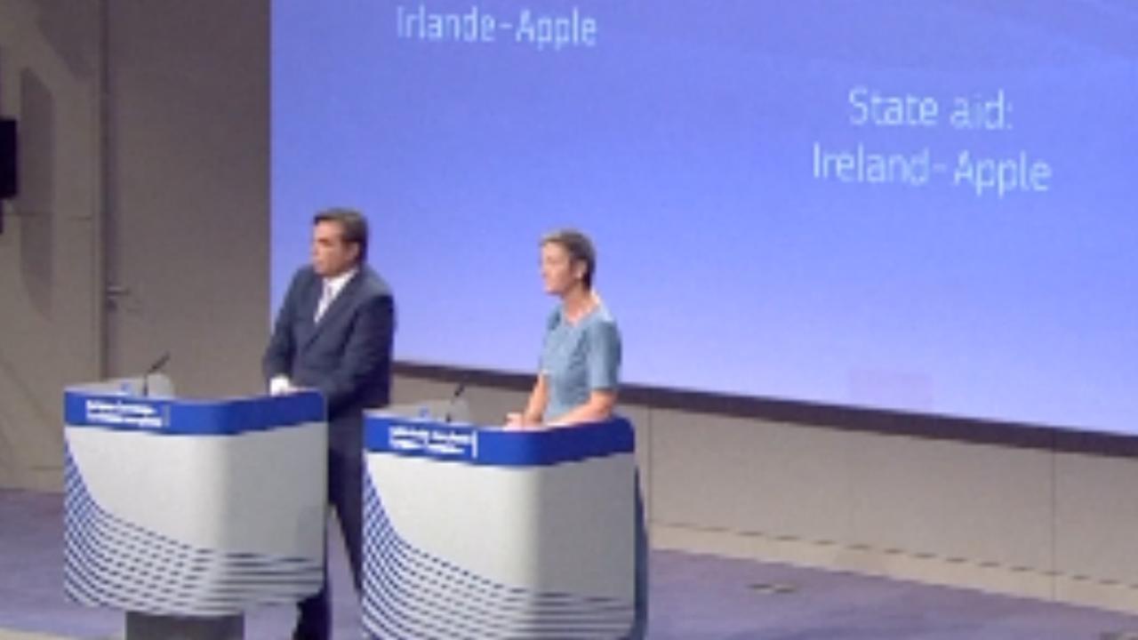 Brussel dwingt Apple tot betalen 13 miljard euro