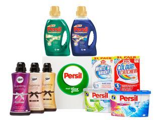 De nieuwste producten van Persil, Silan en K2r in één box