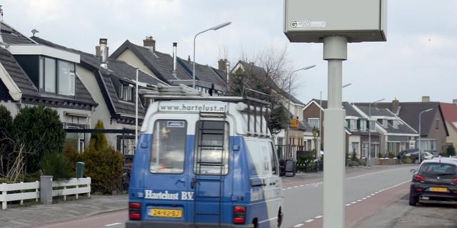 Meer flitspalen in Wallonië