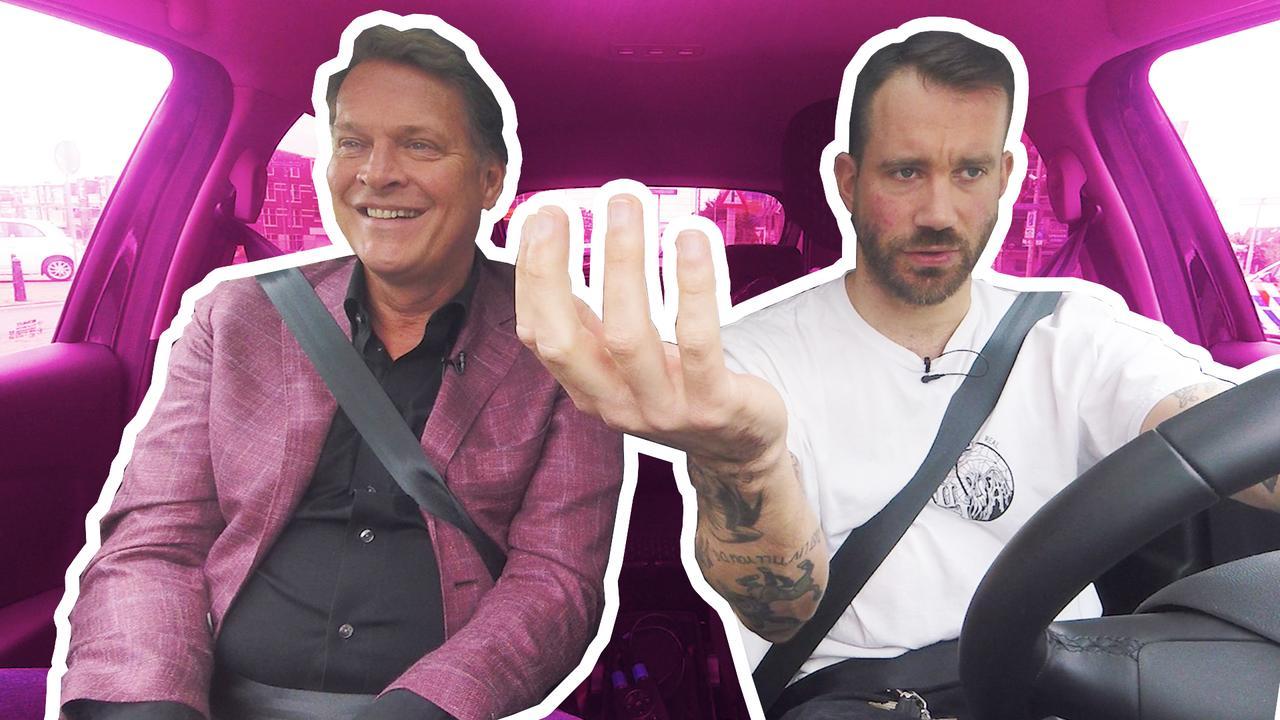 In de auto met Albert Verlinde: 'Ik ben niet vals op bestelling'