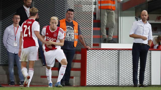 Van de Beek krijgt basisplaats bij Ajax in thuiswedstrijd tegen Heracles