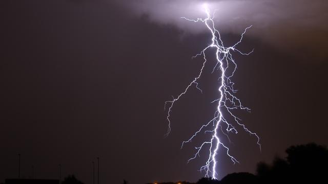 Code geel in Groningen vanwege zware regen en onweer