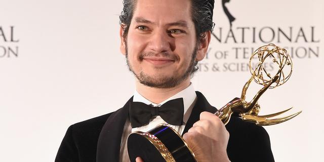 Maarten Heijmans wint Emmy voor rol in Ramses