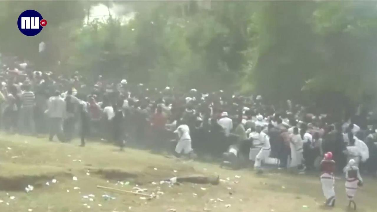 Ethiopiërs omgekomen bij protest in Bishoftu