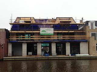 Contouren van nieuwbouw na ongeval 2015 zichtbaar