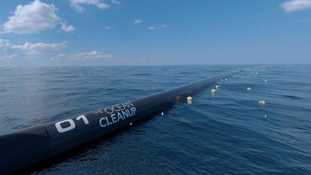 The Ocean Cleanup vaart uit: 'Hiermee wordt de schuld niet ingelost'