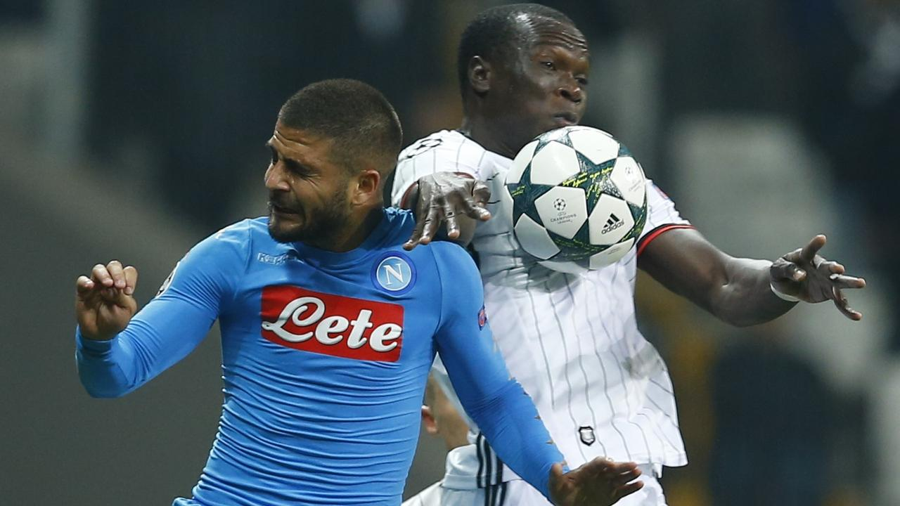 Samenvatting Besiktas-Napoli (1-1)