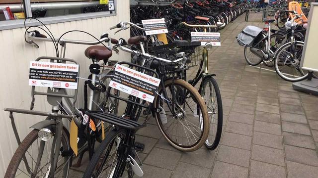 Gemeente Utrecht gaat doorverkochte gestolen fietsen opsporen