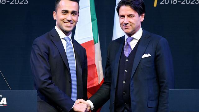 Nieuw gezicht Conte voorgedragen als premier van Italië