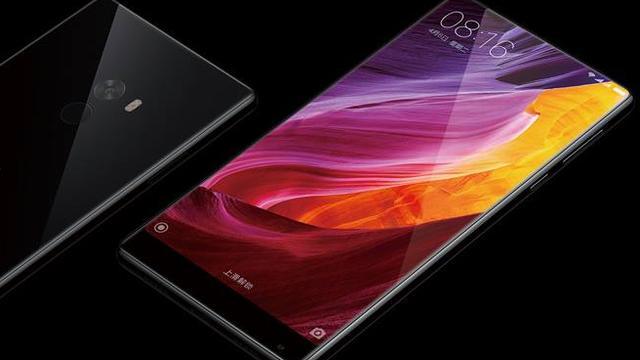 Xiaomi toont smartphone met randloos scherm