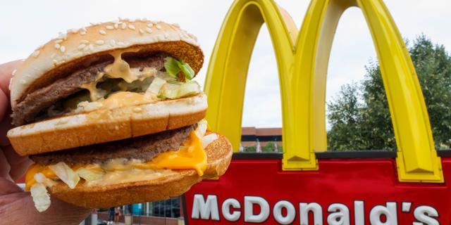 Fastfoodketen McDonald's profiteert van wijzigingen in menu