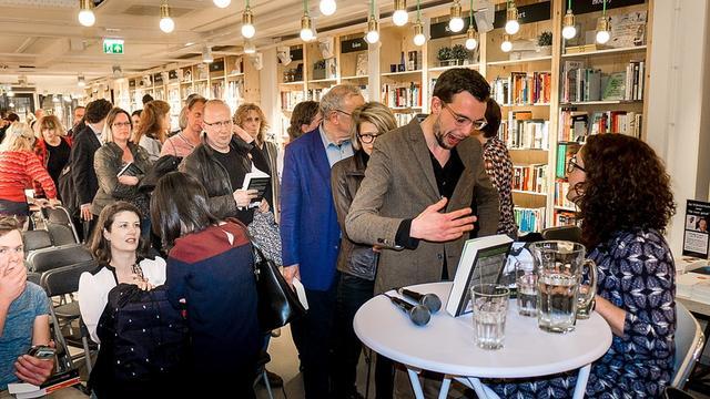 Femke Halsema praat over haar politieke carrière bij Kooyker Leiden