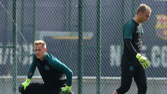 Cillessen hervat training bij FC Barcelona