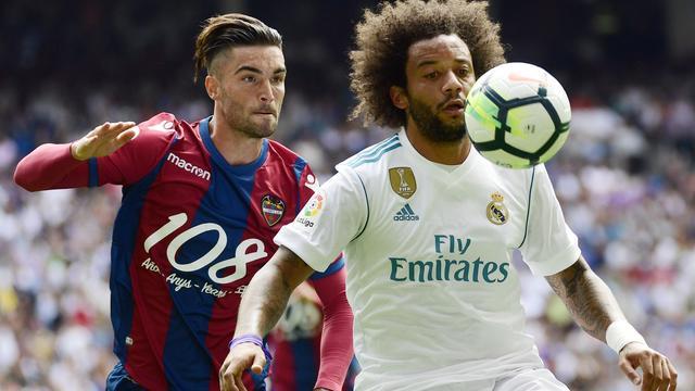 Real Madrid breekt verbintenis Marcelo open tot medio 2022