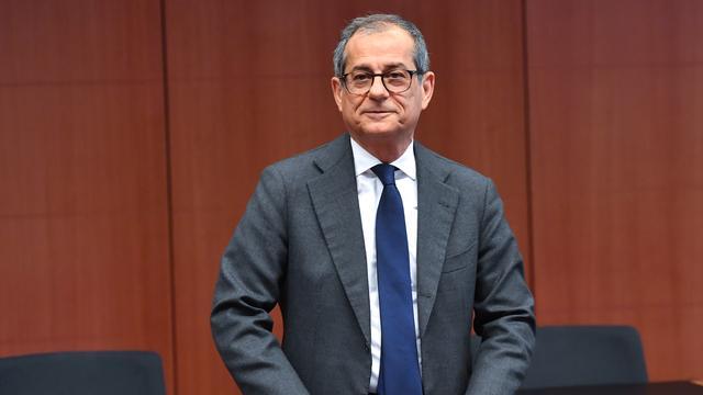 Italiaanse minister van Financiën sluit introductie 'nieuwe valuta' uit
