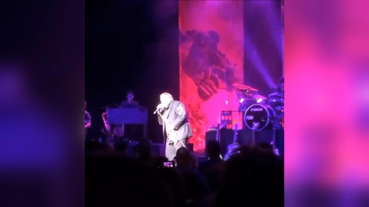 Meat Loaf zakt in elkaar tijdens optreden in Canada